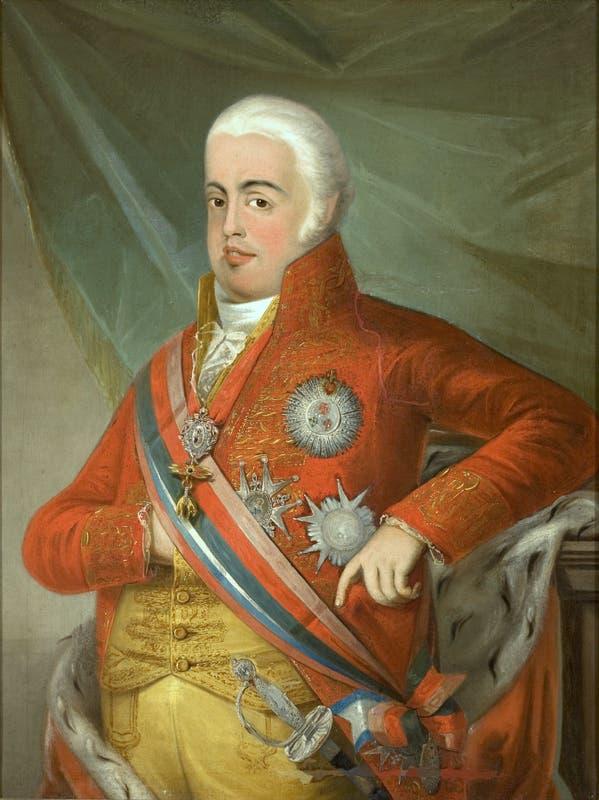 صورة لملك البرتغال جوان السادس