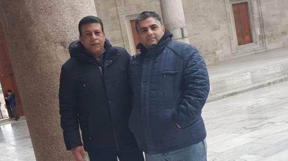 سامر شعبان (يمين الصورة) وزكي مبارك