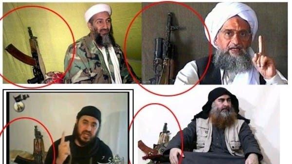 """""""بن لادن""""  يظهر خلف البغدادي... سلاح قادة الإرهاب"""