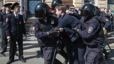 تظاهرة ضد بوتين في سان بطرسبورغ وتوقيف 30 شخصا