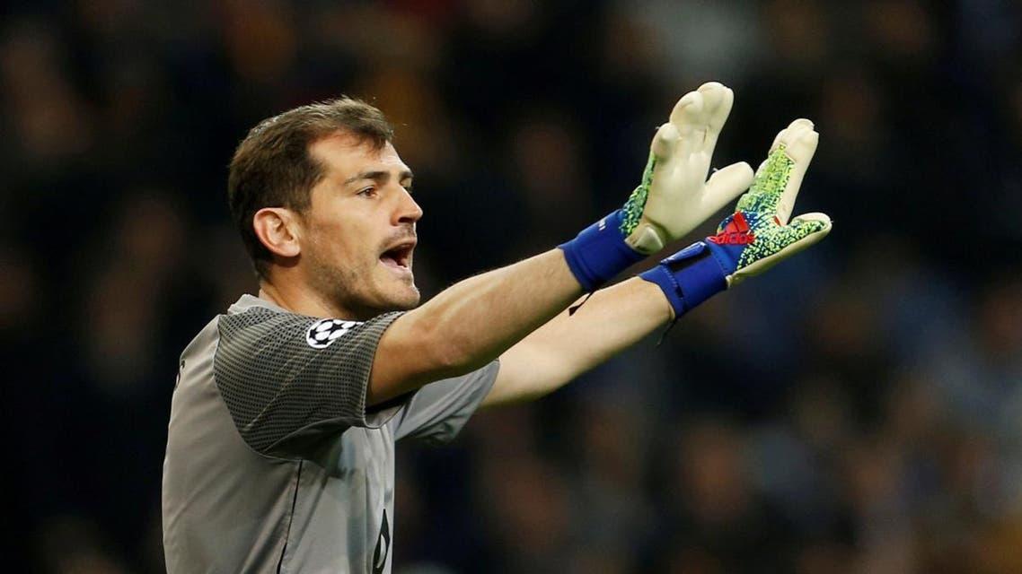 Porto's Iker Casillas during a match. (File photo: Reuters)