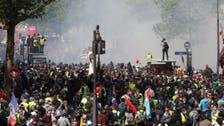 یوم مئی پر پیرس میں احتجاج، پولیس نے دسیوں مظاہرین گرفتار کر لئے