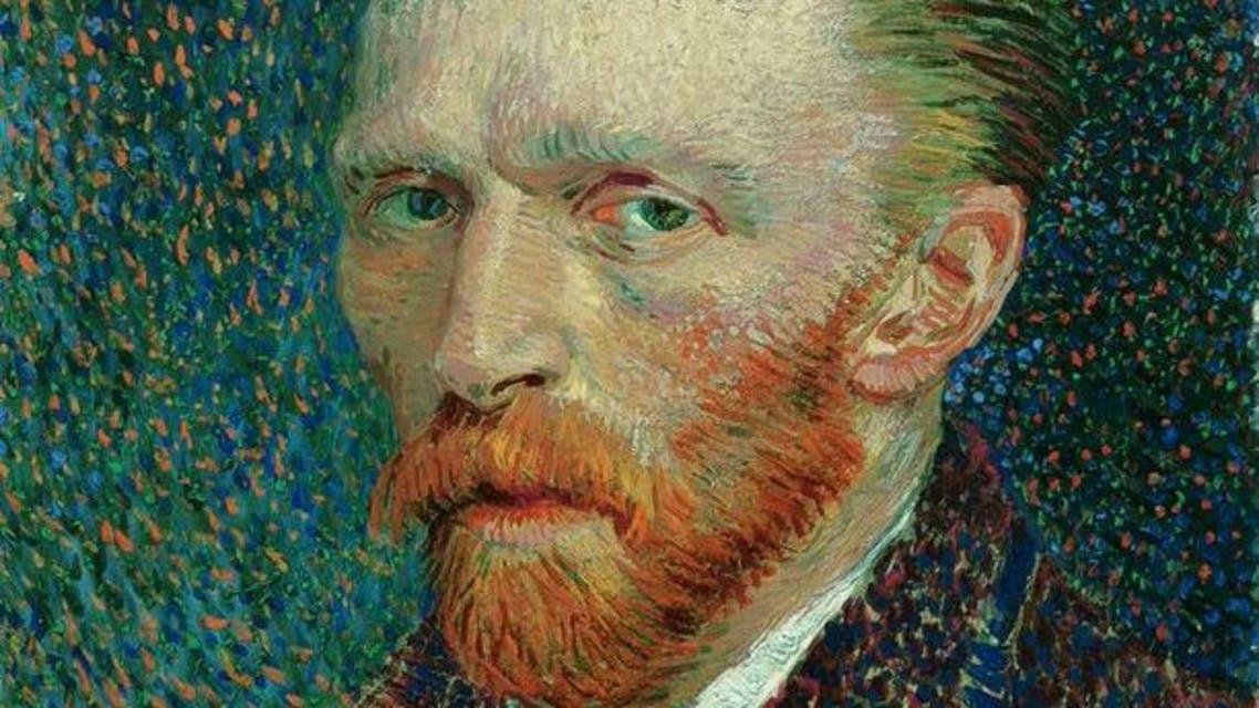 لوحة تجسد شخصية فنسنت فان غوخ