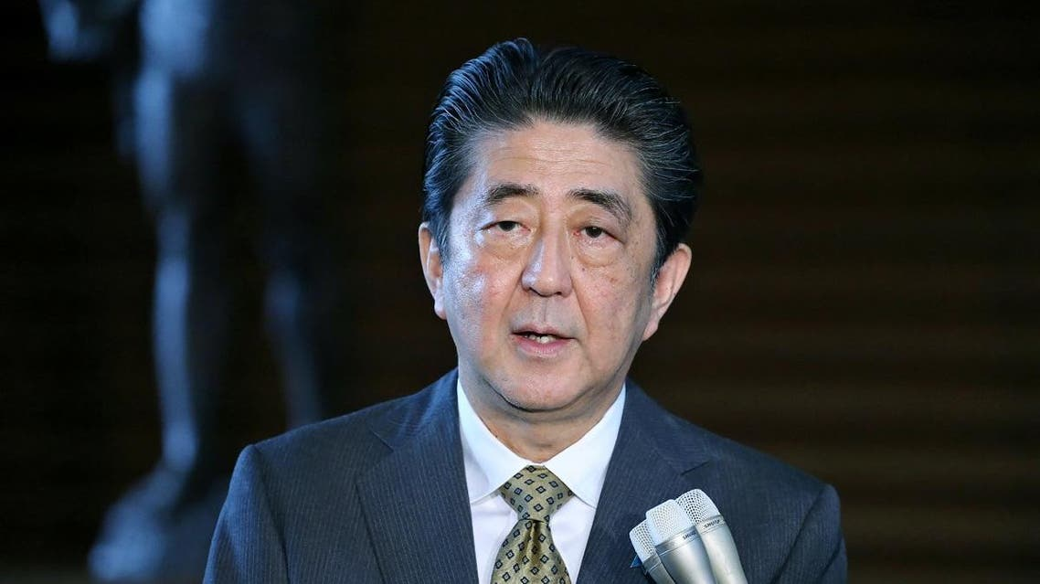 Japan Shinzo Abe PM. (AFP)