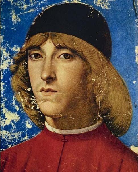 رسم تخيلي يجسد شخصية بييرو الثاني الملقب أيضا ببييرو المتعوس