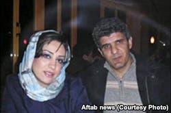 شهرزاد وزوجها السابق محمود سيف ضابط استخبارات الحرس
