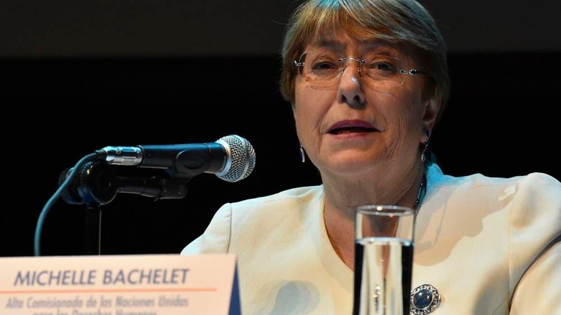 Michelle Bachelet afp