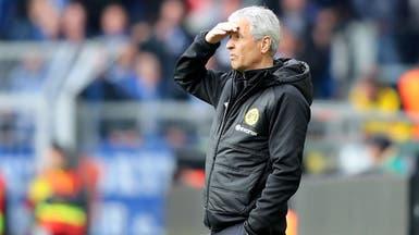 مدرب دورتموند متمسك بأمل انتزاع لقب الدوري من بايرن