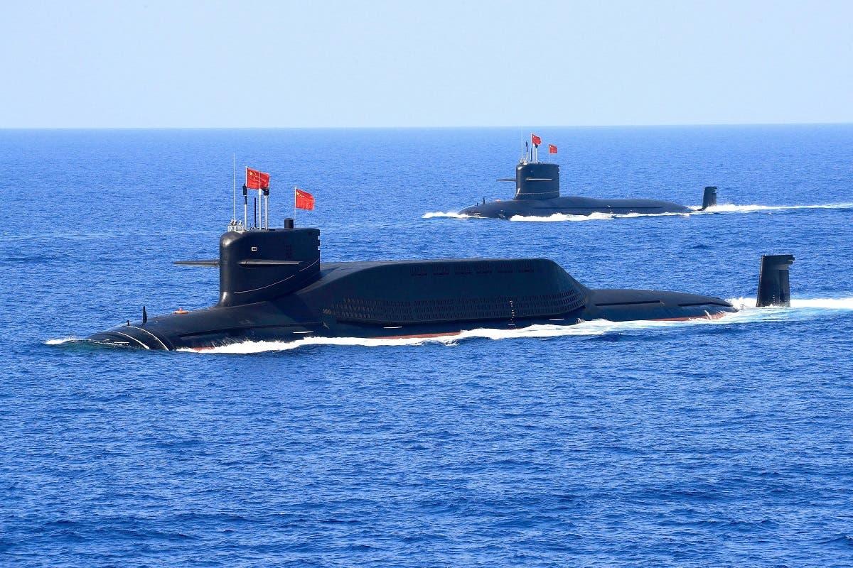غواصة عسكرية صينية في بحر الصين الجنوبي (أرشيفية)