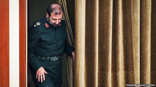 جمال أبرومند احد ضباط استخبارات الحرس الثلاث