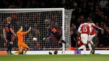 Lacazette double helps Arsenal beat Valencia 3-1
