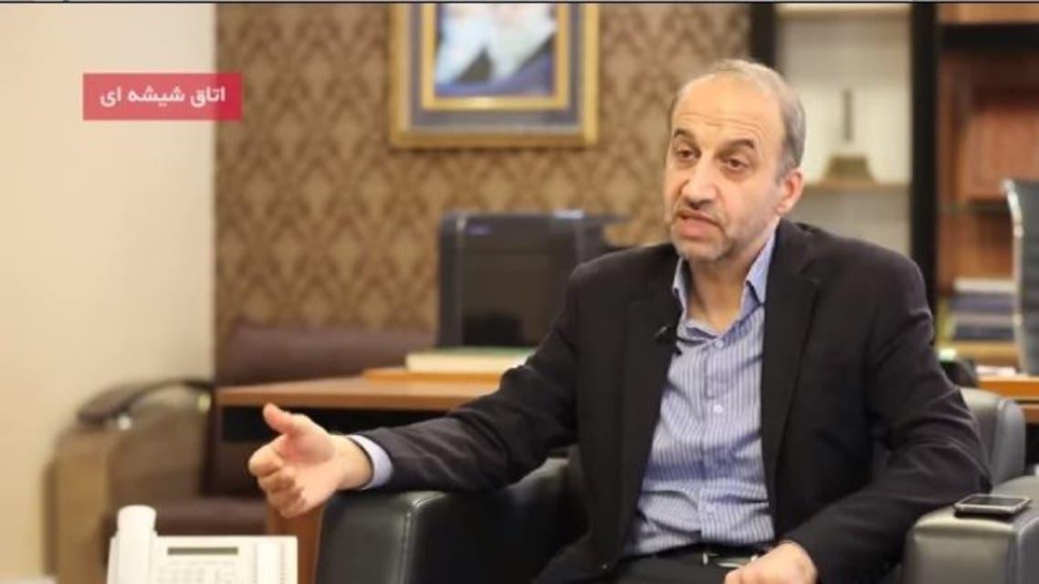 محمد سرافراز أثناء المقابلة