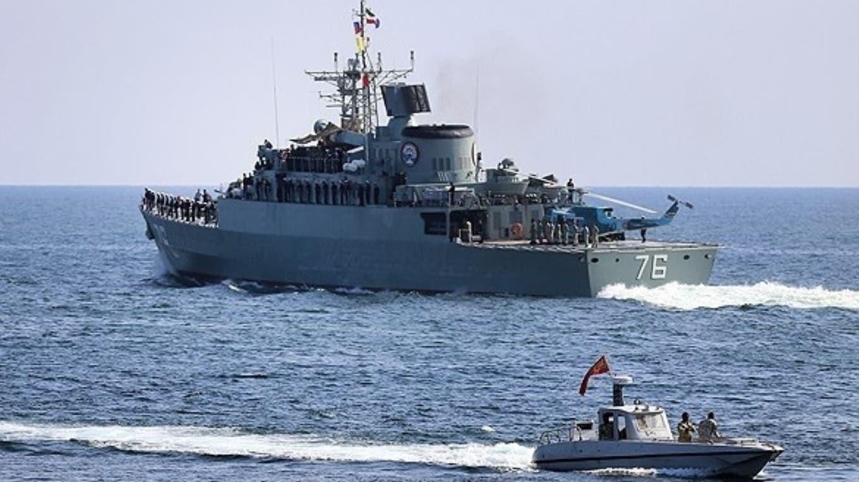 قطعة بحرية إيرانية