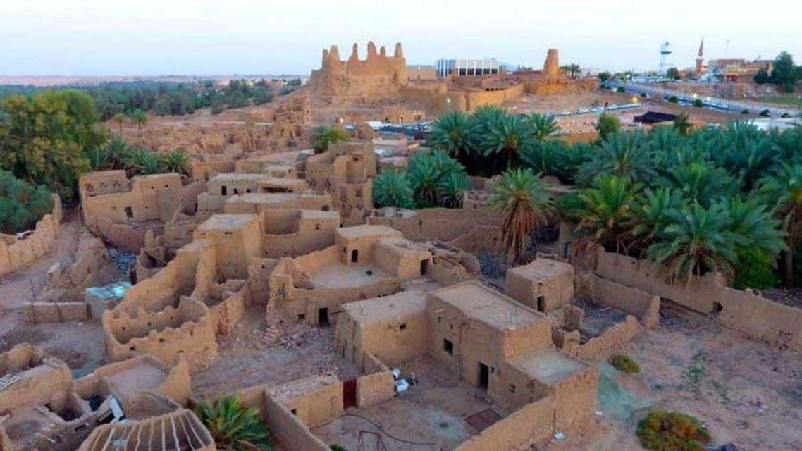 KSA: old historic village