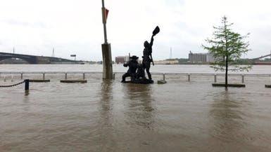 الأمطار تغرق وسط أميركا.. وتهدد بفيضان الأنهار