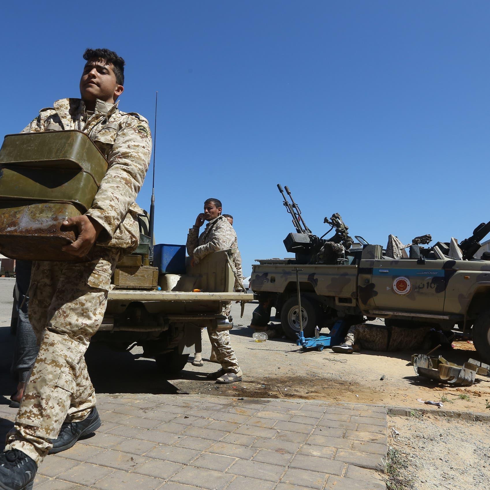 مصراتة تستنفر ميليشياتها وترسلها للقتال ضد الجيش بطرابلس