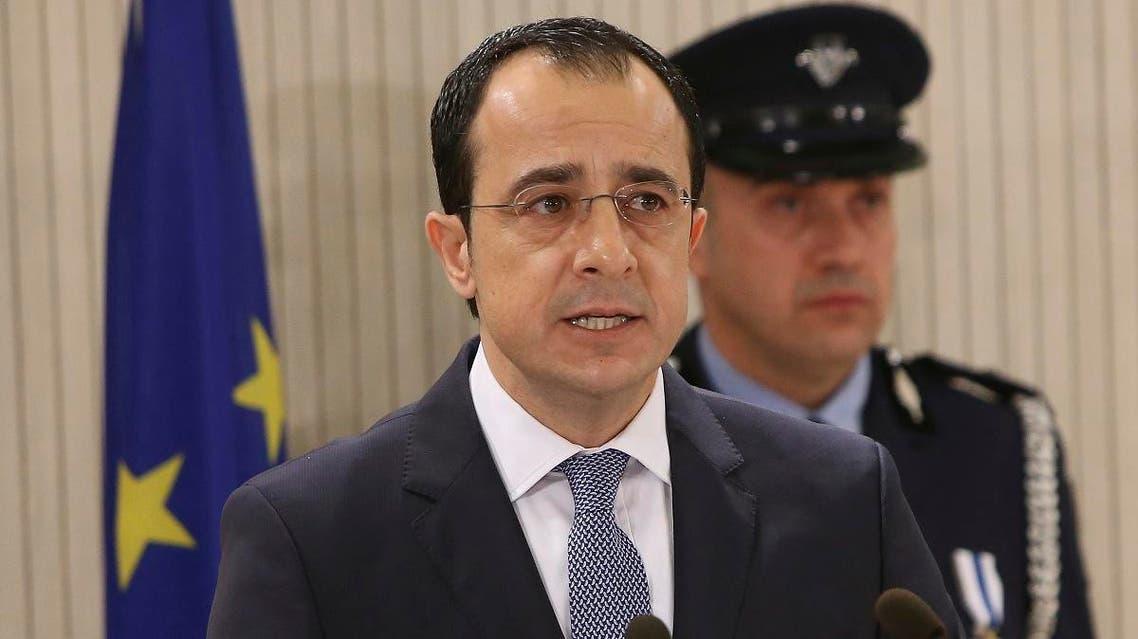 Cyprus Foreign Minister Nikos Christodoulides. (AP)