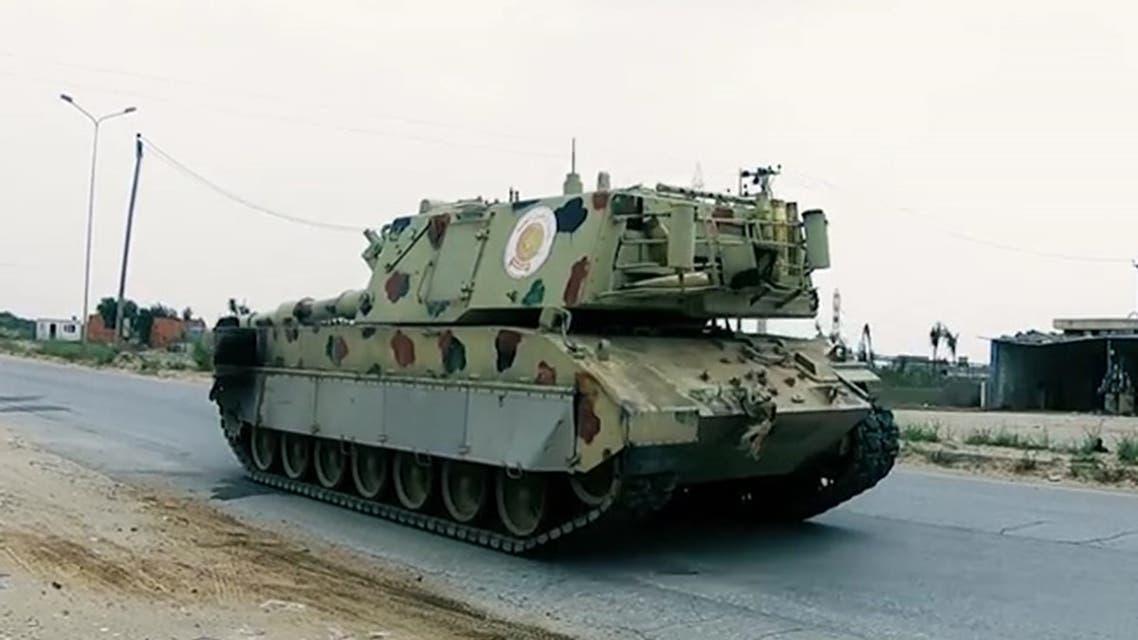آليات للجيش الليبي