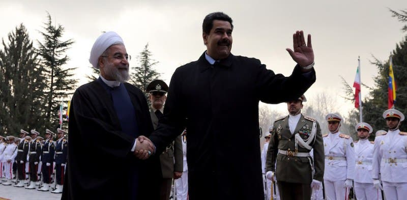 مادورو وروحاني