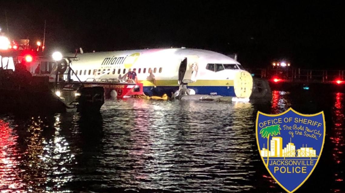 Plane crashes near Jacksonville Florida in river. (Twitter)