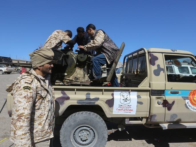 الجيش الليبي: دواعش وعناصر من القاعدة يعالجون في مصراتة
