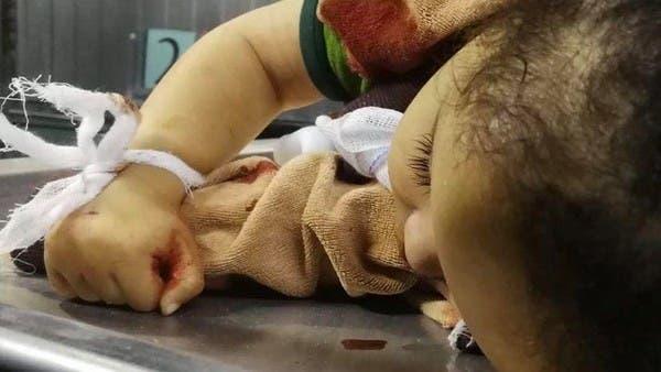 """""""فلسطين"""" تلفظ أنفاسها بعد غارة إسرائيلية حصدت طفلتها"""