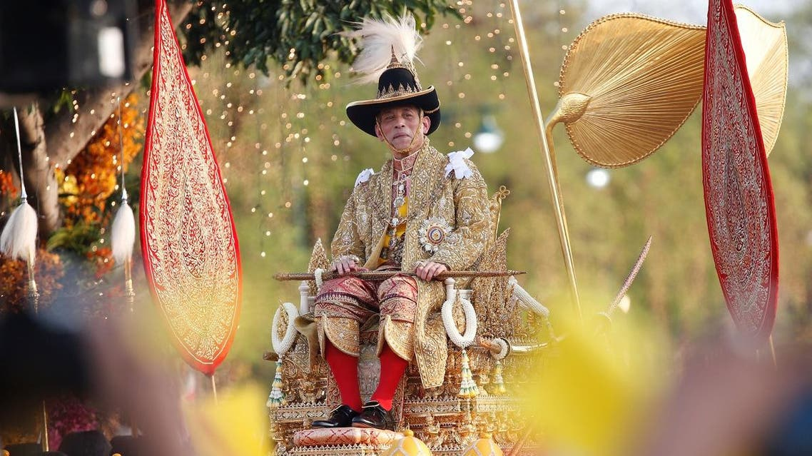 Thailand's newly crowned King Maha Vajiralongkorn is seen during his coronation procession, in Bangkok, Thailand. (Reuters)