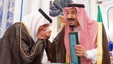 خادم الحرمين يمنح خالد الفيصل وبدر بن عبدالمحسن وشاح الملك عبدالعزيز