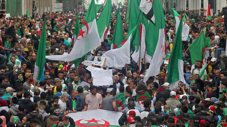 Thousands Of Algerians Hold First Rally Of Ramadan Al