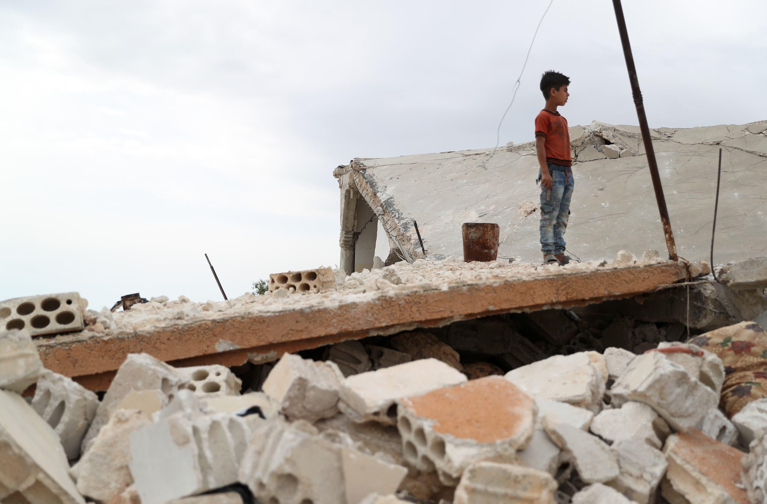 من إدلب (6 مايو 2019- فرانس برس)