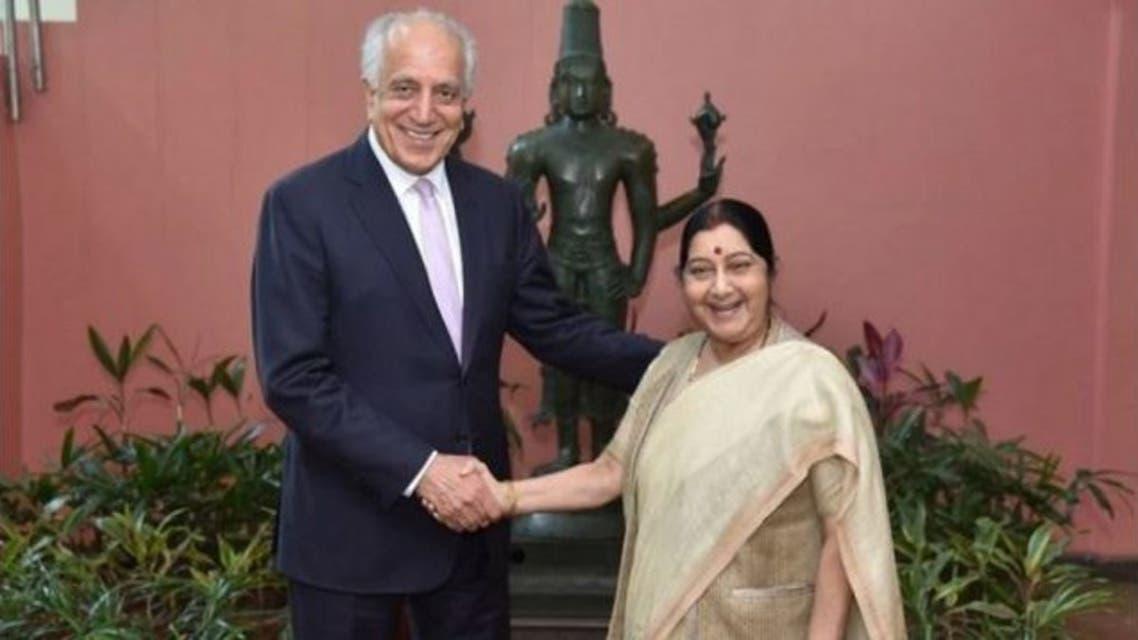 نماینده ویژه امریکا بخاطر صلح افغانستان با مقامهای هندی دیدار کرد