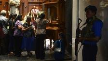Sri Lanka's bombed church partially opens for prayers