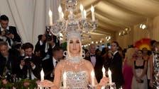 Katy Perry as chandelier, Lady Gaga in layers at Met Gala