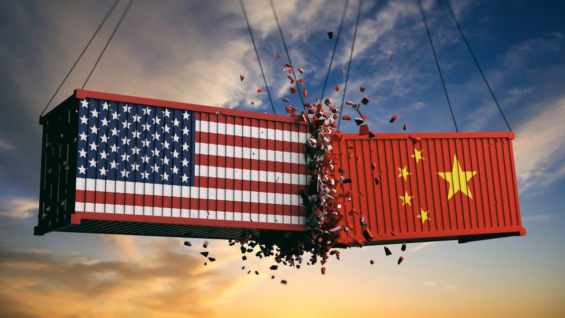 الصين أميركا تجارة