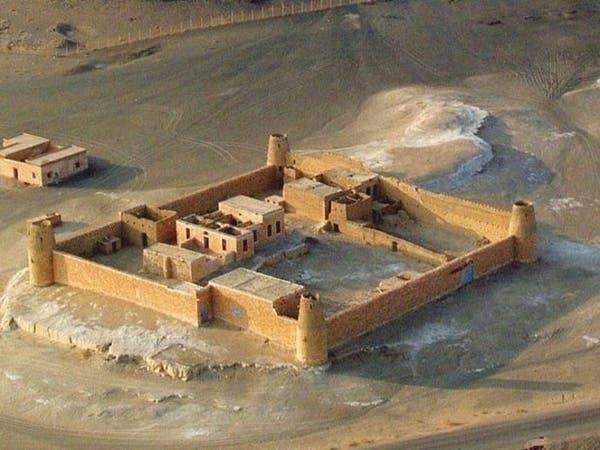 صور لقلعة سعودية بنيت بالأحجار الكلسية منذ 100 عام