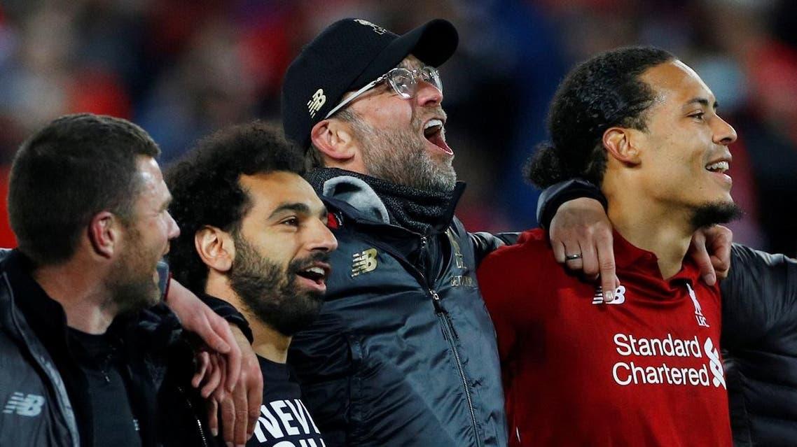 Champions League Semi Final Second Leg - Liverpool v FC Barcelona. (Retuers)