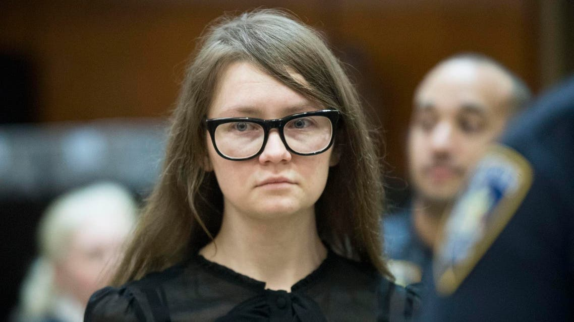 Anna Sorokin in a New York courtroom on April 25, 2019. (AP)