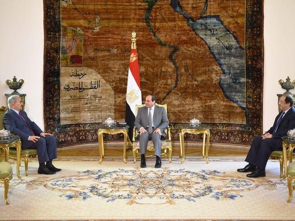 القاهرة..  السيسي يبحث مع حفتر دعم مصر للجيش الليبي