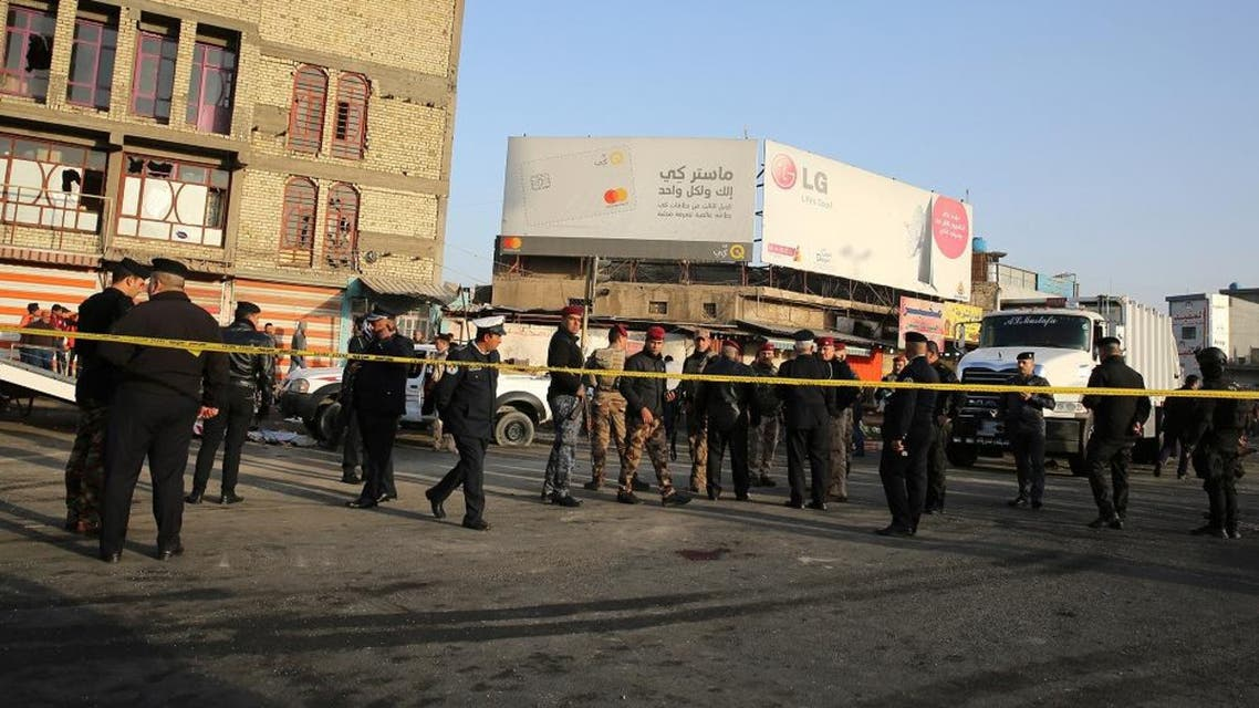 baghdad blast file photo afp