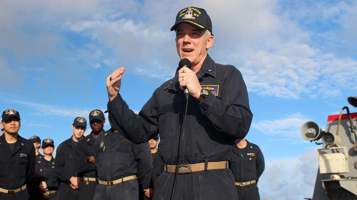 US Vice Admiral Jim Malloy. (Reuters)
