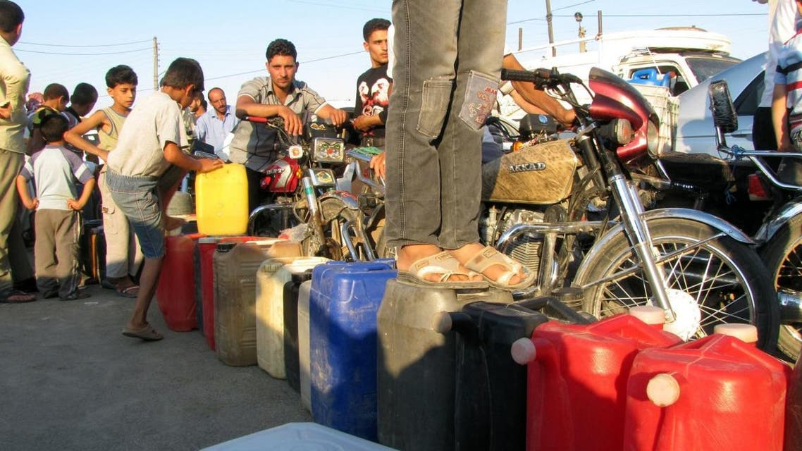 Syria has suffered an acute fuel shortage this winter, with the government introducing rationing for gasoline and cooking gas. (File photo: AFP)