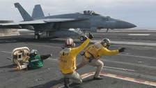 خلیج میں موجود امریکی بحری بیڑے سے ایران کے خلاف کارروائی کی تیاری کی ویڈیو جاری