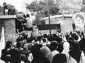 اقتحام السفارة الأميركية في طهران عام 1979