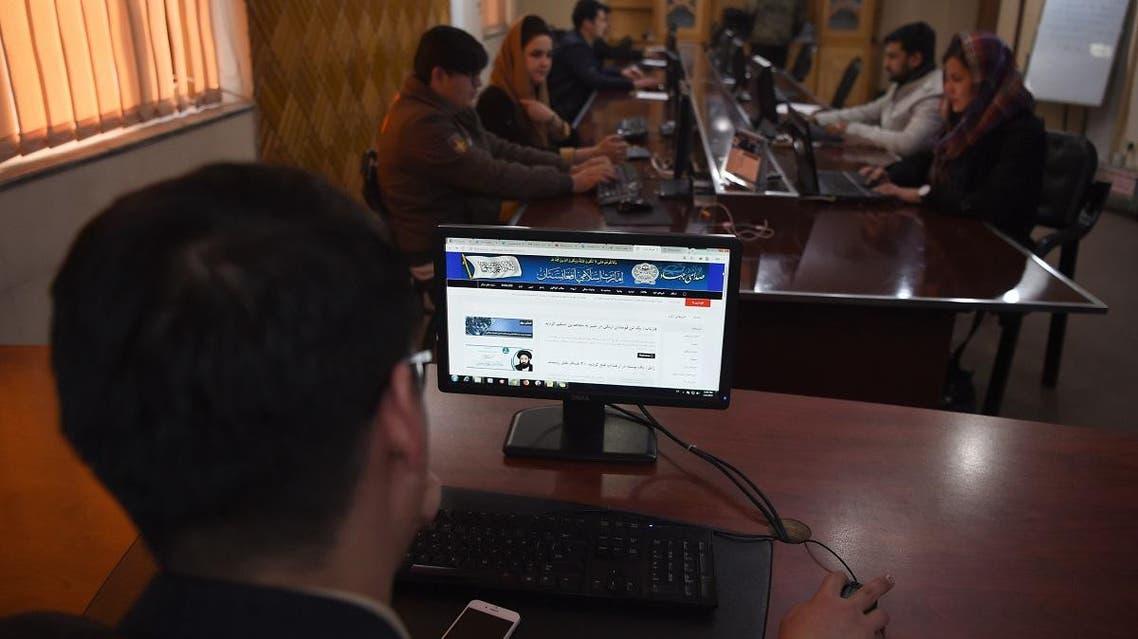 Taliban media. (AFP)
