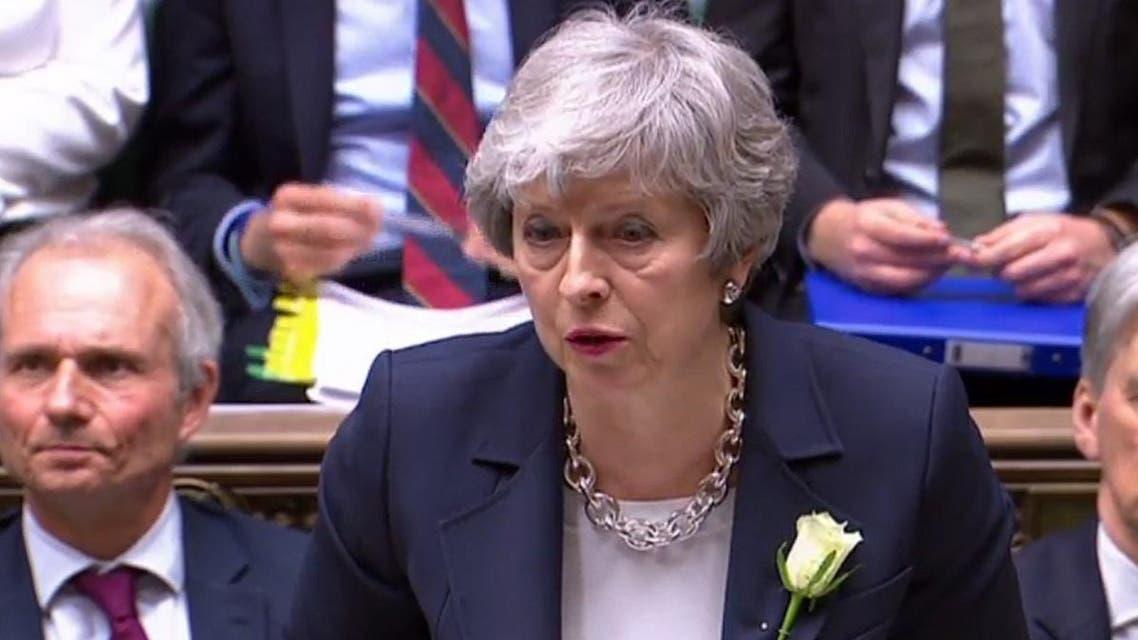 British Prime Minister Theresa May. (AFP)
