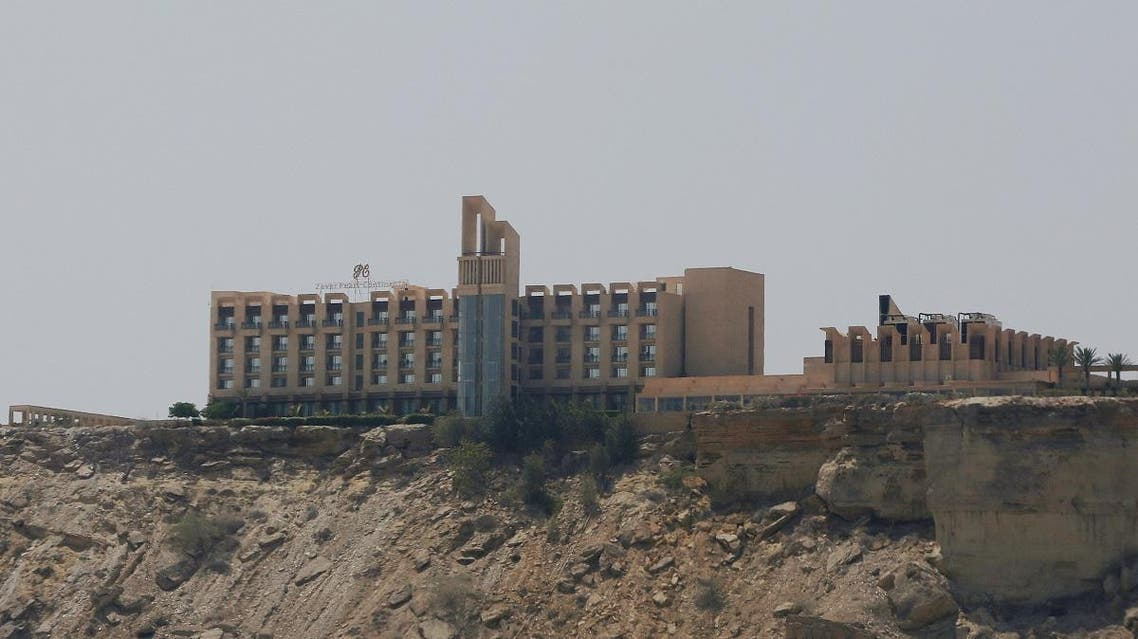 A general view of the Pearl Continental (PC) hotel in Gwadar. (Reuters)