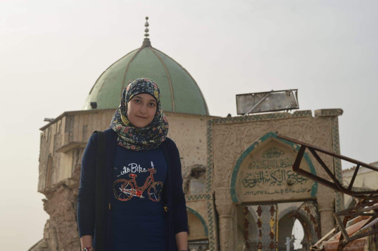 الناشطة المدنية سرور الحسيني