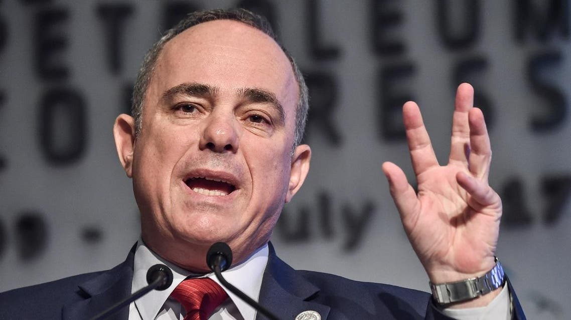 Israeli Energy Minister Yuval Steinitz. (AFP)