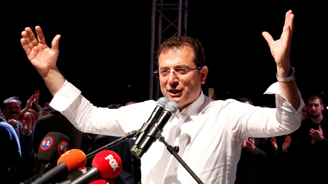 Ekrem Imamoglu was elected mayor for a second time on Sunday after Turkey's electoral board annulled the results of the March 31 polls in Turkey's largest city. (File photo: Reuters)