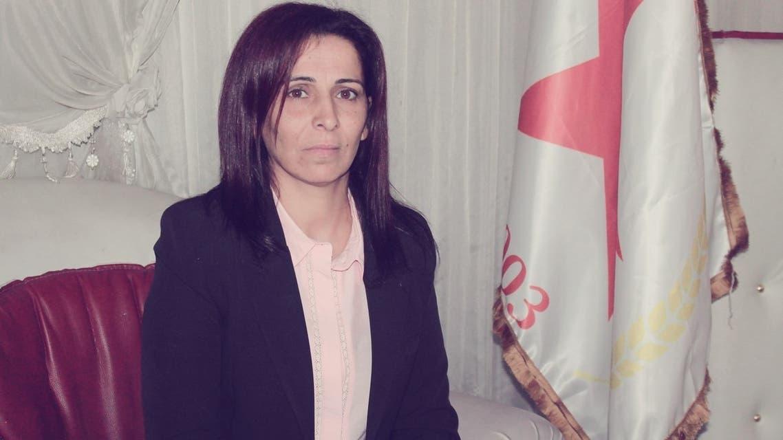 القيادية في حزب الاتحاد الديمقراطي أحد أكبر الأحزاب الكردية المؤسسة للإدارة الذاتية في شمال وشرق سوريا، عائشة حسو
